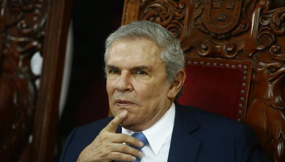 Luis Castañeda Lossio defendió su tercera gestión. (Perú21)