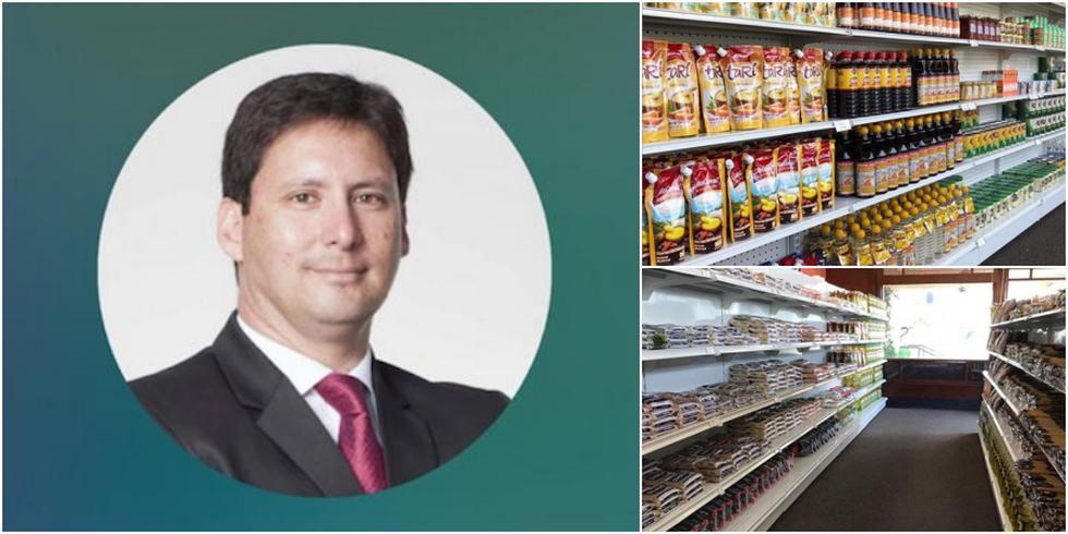 CEO de la Pastelería San Antonio, Rubén Sánchez.