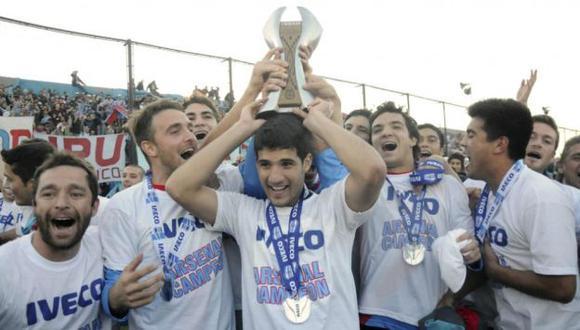 El equipo tuvo entre sus fundadores a Julio Grondona, actual titular de la AFA. (lagaceta.com.ar)