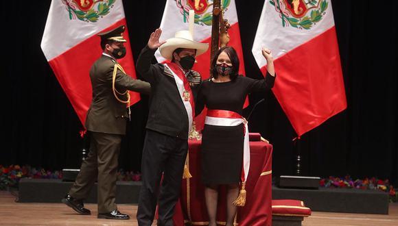 Anahí Durand juró como ministra de Mujer y Poblaciones Vulnerables. (Foto: Presidencia)