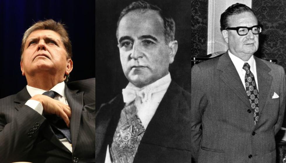 Ex presidentes que decidieron suicidarse. (Foto: GEC/AFP)