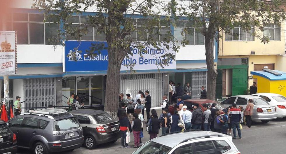 El Seguro Social de Salud (EsSalud), mediante un comunicado, lamentó el fallecimiento de una mujer con iniciales J.A.V. de 48 años. (Foto: Facebook/ Enzo Alminagorta)