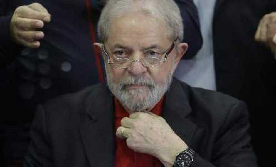 El ex mandatario de Brasil, preso por corrupción pasiva y lavado de dinero, Lula da Silva.(Foto: AFP)