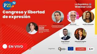 """Webinar """"Congreso y libertad de expresión"""""""
