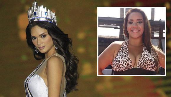Miss Universo respalda participación de Mirella Paz en el certamen local. (USI)