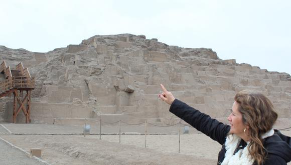 """""""La propuesta es integrar el patrimonio arqueológico a la vida urbana de Lima, que dejen de ser vistas como un museo a cercar"""", señala la arquitecta Giusti Hundskopf."""