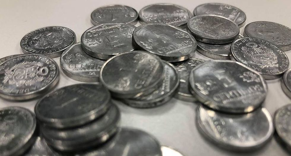 Estas monedas de cinco céntimos no pierden su valor pues podrán ser canjeadas en las ventanillas del sistema financiero. (Foto: GEC)