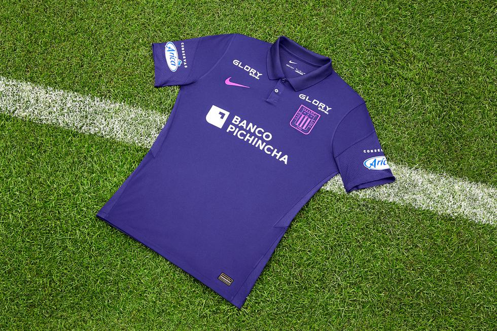 Nike lanza la camiseta morada tradicional de Alianza Lima para octubre de 2021. (Foto: Alianza Lima)