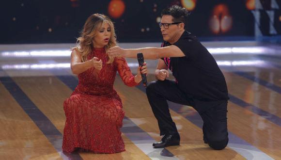 El conductor indica que el jurado no ve la evolución de su baile (Perú21)