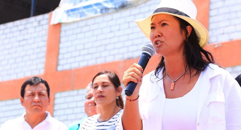 Keiko Fujimori (Perú21)