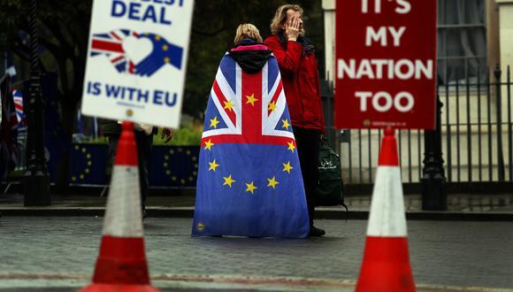 Reino Unido debía haber abandonado la Unión Europea el 29 de marzo. Sin embargo, la UE retrasó esa fecha hasta el 12 de abril ante las confrontaciones políticas por el Brexit. (Foto: AP)