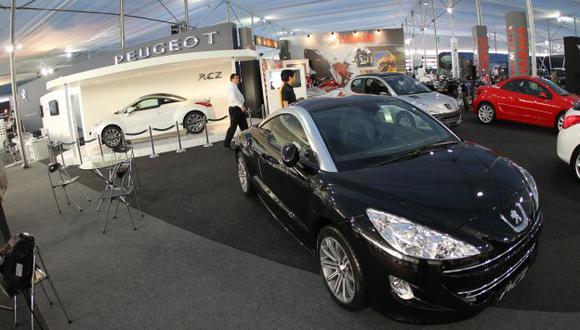 MAYOR CONSUMO. Este año se llegarán a vender en el Perú cerca de 190 mil autos nuevos. (USI)