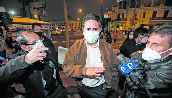 Vladimir Cerrón no deja de pronunciarse sobre diversos aspectos del gobierno de Pedro Castillo. (Fotos: Jorge Cerdan/@photo.gec)