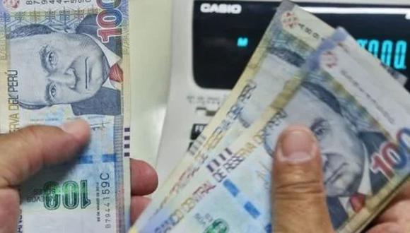 Se trata de un pago excepcional, entregado por única vez, y de acuerdo a determinadas categorías. (Foto: Andina)