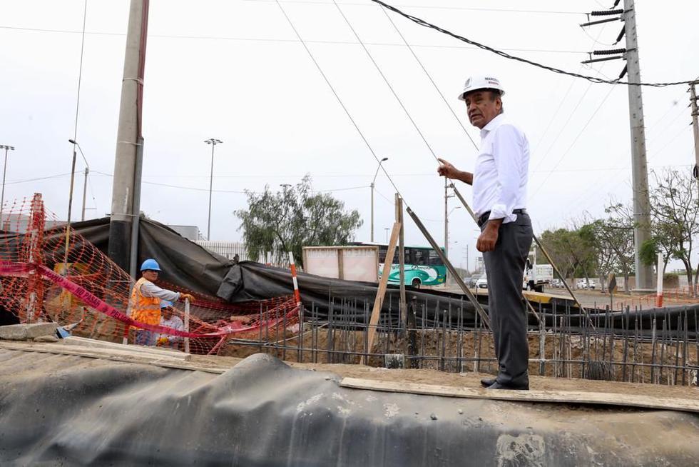 El alcalde de Trujillo, Daniel Marcelo, ha supervisado los trabajos.