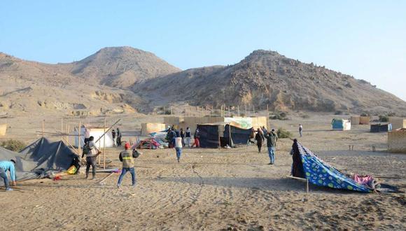 El pasado 21 de julio hubo un desalojo en la zona arqueológica. (Andina)