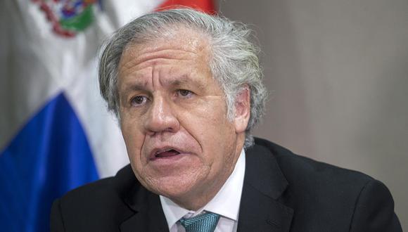 Almagro ganó la elección con los votos de 23 de los 34 miembros activos de la OEA. (Foto: AFP/Archivo)