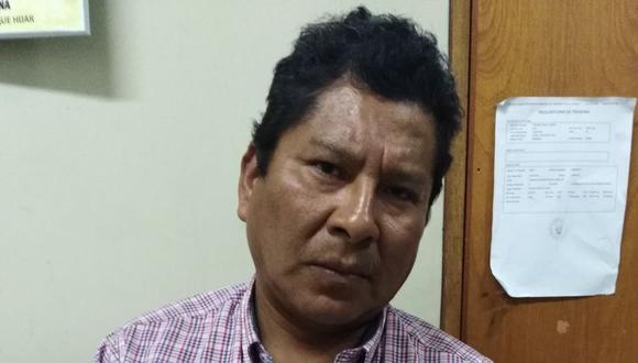 Bernardo Teófilo Tapia Soto era requerido por el Poder Judicial de Puno.