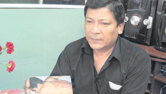 NO A LA IMPUNIDAD. Marco Falla, padre de la víctima, exige la máxima sanción para los asesinos. (Iris Mariscal)