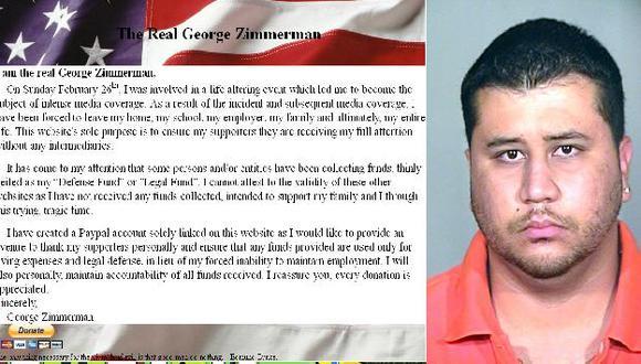 He tenido que dejar mi casa, mi familia y mi vida entera, dice Zimmerman. (AP)
