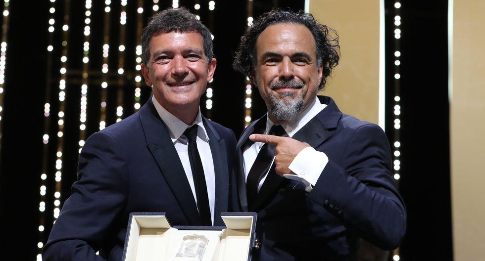 Antonio Banderas gana el premio a mejor actor el Festival de Cannes. (Foto: AFP)