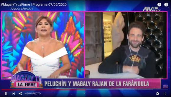 Paolo se comunicó con 'Peluchín' para aclarar que no es machista. (Foto: Captura de pantalla ATV)