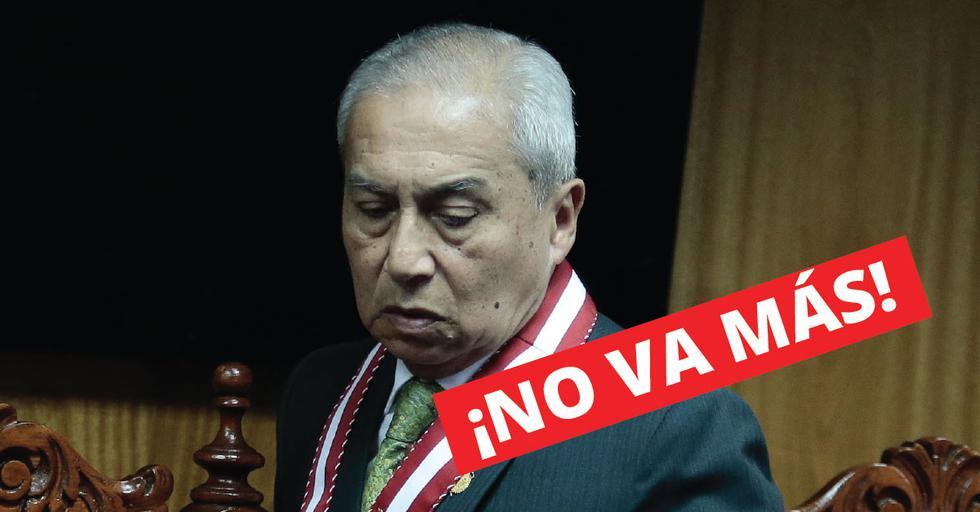 Pedro Chávarry juramentó como fiscal de la Nación en julio de 2018. (Perú21)