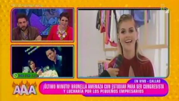 ¡Brunella Horna quiere ser congresista! (sí, leíste bien) (Latina)