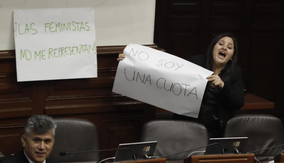Se desata 'guerra' de carteles sobre paridad y alternancia. (Foto;  Anthony Niño de Guzmán/GEC)