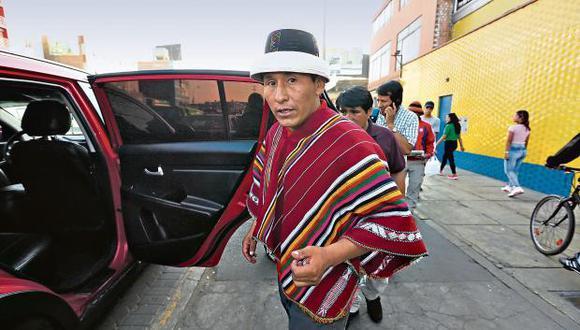 Gregorio Rojas aseguró que su posición es la de toda la provincia de Cotabambas. (Foto: GEC)