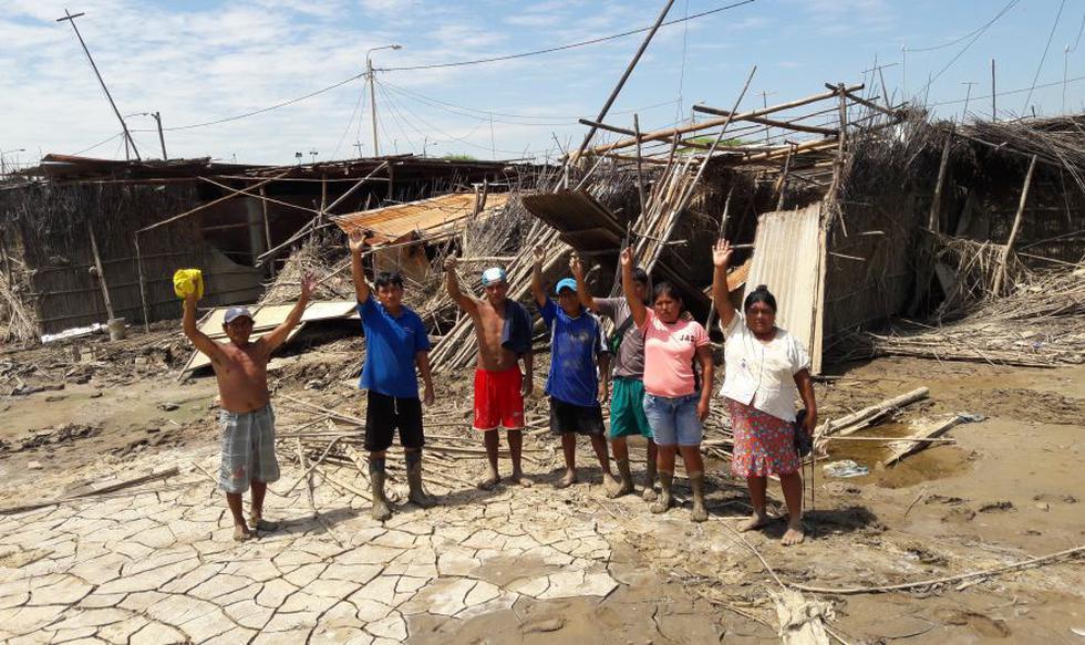 Catacaos fue afectado por el desborde del río Piura. (JORGE MERINO)