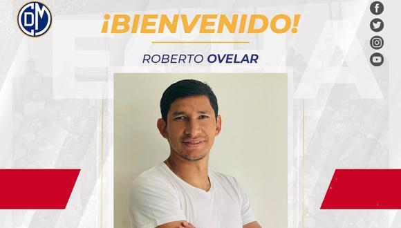 Roberto Ovelar jugará en Deportivo Municipal el 2021. (Foto: @CCDMunicipal)