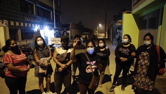 Los familiares del adolescente fallecido solicitan ayuda legal del Estado. (Foto: Joel Alonzo/GEC)