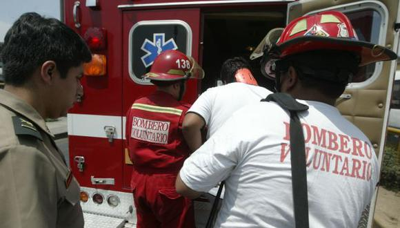 Venezolanos fueron atendidos por bomberos. (USI/Referencial)