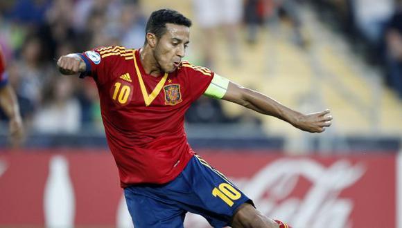 Thiago Alcántara se perdería el Mundial por lesión. (AP)