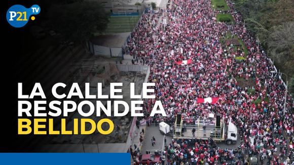 The street responds to Bellido