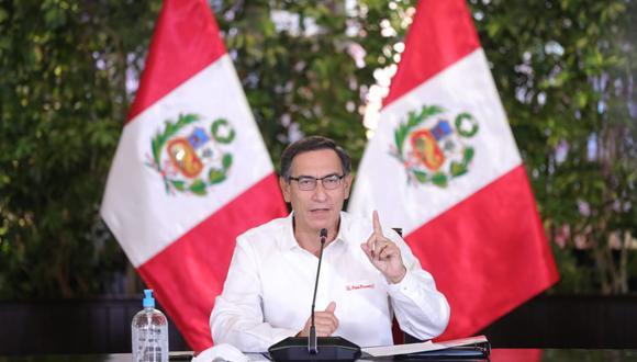 Vizcarra recordó que hay pocas alcaldesas y ninguna mujer como gobernadora regional (Presidencia).