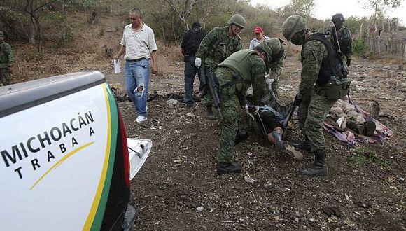 Las muertes son pan del cada día en México que libra una lucha contra el narcotráfico. (Reuters)