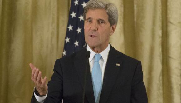 Kerry dijo que EEUU continuará en las negociaciones de paz en Siria. (AP)