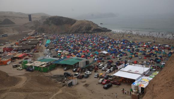 Playa León Dormido, por su ubicación, fue uno de los principales refugios. (Fidel Carrillo)