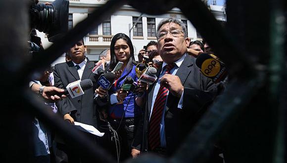 Miguel Facundo Chinguel afrontaría proceso penal bajo mandato de detención. (David Vexelman)