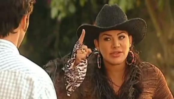 """La vez que Lady Noriega, actriz de """"Pasión de Gavilanes"""", se ha sometido a diversas cirugías estéticas  (Foto: Telemundo)"""