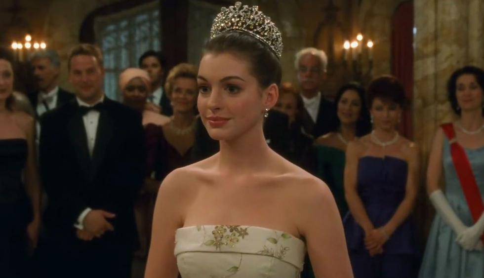 """Anne Hathaway confirmó que habrá una tercera parte de la película """"El diario de la princesa"""". (Foto: Captura de video)"""