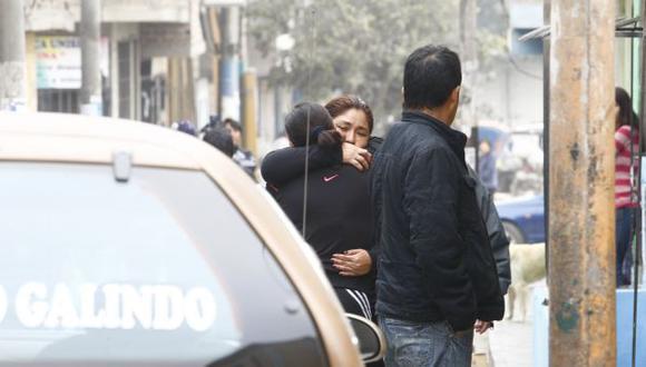 TRISTE FINAL. Alfonso Auqui Huaytalla recibió seis impactos de bala. Deja esposa y un hijo. (Mónica Palomo/USI)