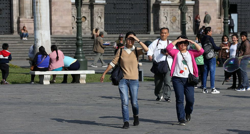 El índice máximo UV en Lima alcanzará el nivel 14 este lunes, según pronósticos del Senamhi. (Foto: GEC)
