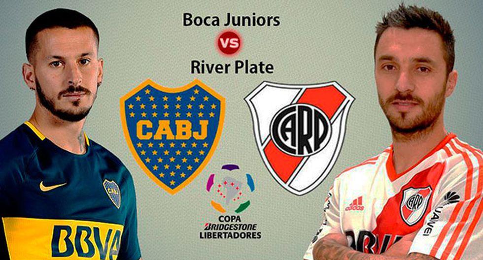 Boca Juniors vs. River Plate juegan la primera final de la Copa Libertadores 2018 en la Bombonera. Conoce cómo puedes ver fútbol en vivo en las siguientes aplicaciones. (Foto: Composición)