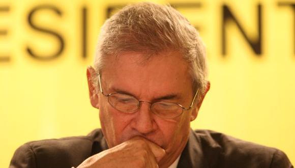 Sin palabras. Luis Castañeda Lossio prefirió guardar silencio sobre divulgación de audio privado. (USI)