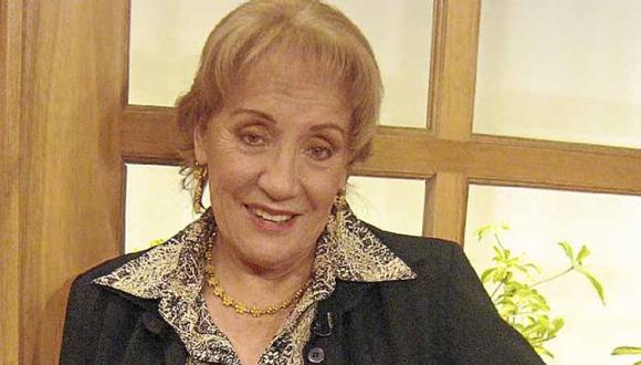 Mabel Duclós interpreta a la mamá de Tatiana Astengo en la serie 'Al fondo hay sitio'. (Internet)