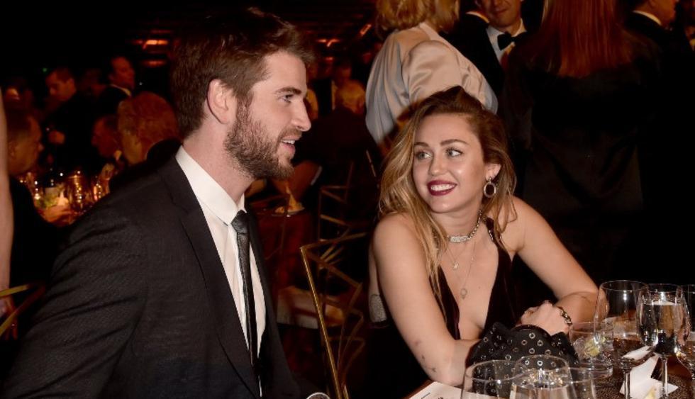 La popular Miley Cyrus acaba de publicar en Instagram tiernas fotografías junto a Liam Hemsworth.(Foto: AFP)