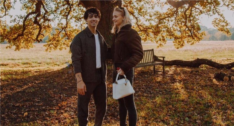 Joe Jonas cumplió 30 y Sophie Turner le dio romántica sorpresa. (Foto:@joeon/@sophiet)